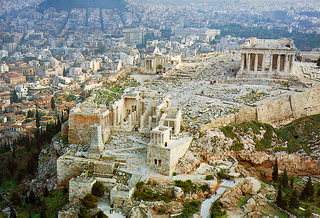 Acropolis The Acropolis hill (acro - edge, polis - city), so called the Sacred Rock of Athens, is the most important site of the city and constitutes one of the most recognizable monuments of the world.