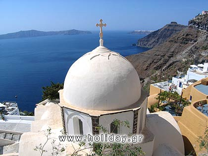Church at Fira