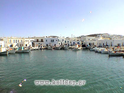 The picturesque port of Naoussa