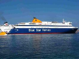 Five years of continuous and successful presence of Blue Star Paros in the Piraeus – East Cyclades islands line.