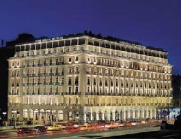 An excellence for the Grande Bretagne Hotel