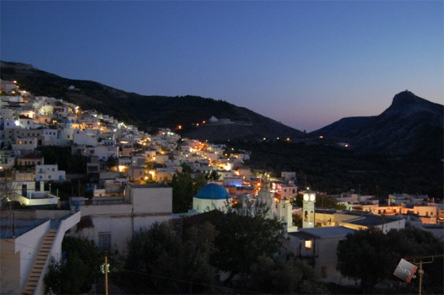 Filoti at night