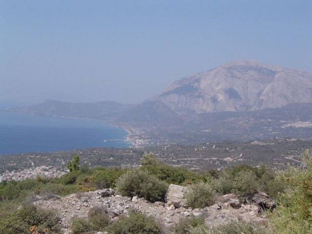 View of Ormos bay Samos
