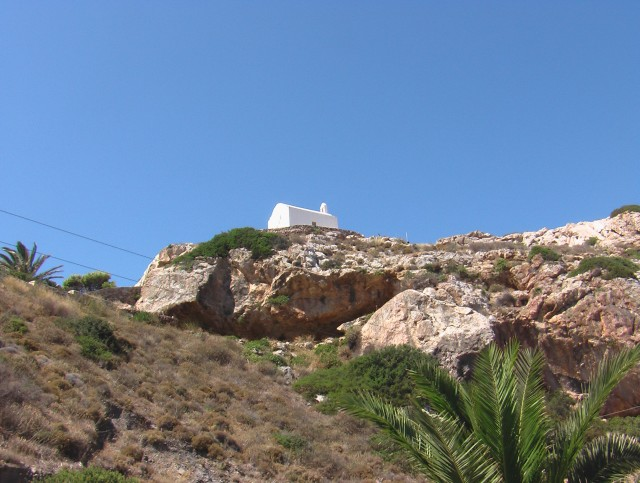 The chapel of Aghia Pakou