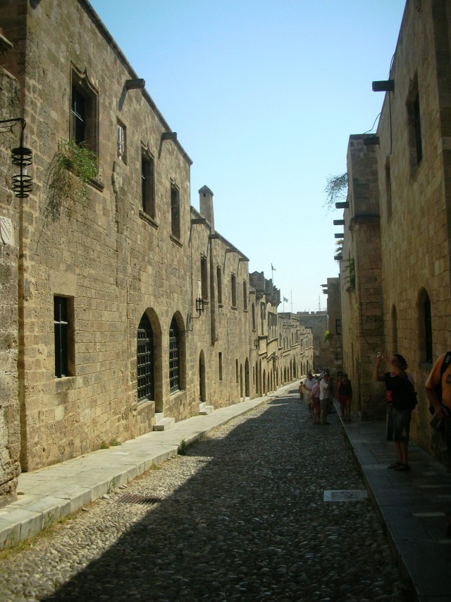 RHODES TOWN (OLD - NEW) PHOTO